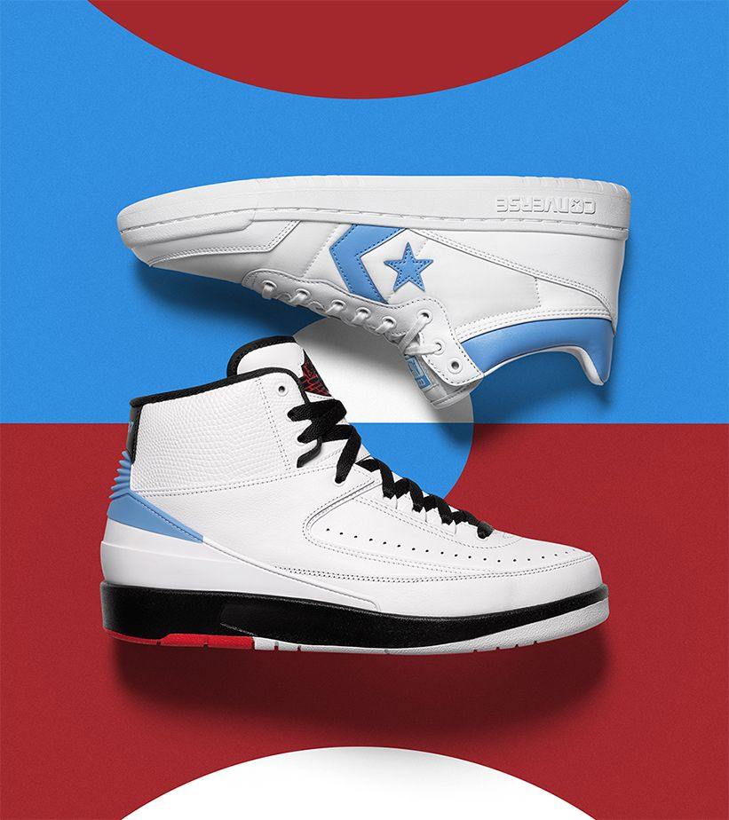 new concept 3b3e6 7c33a Now Available  Air Jordan x Converse Pack
