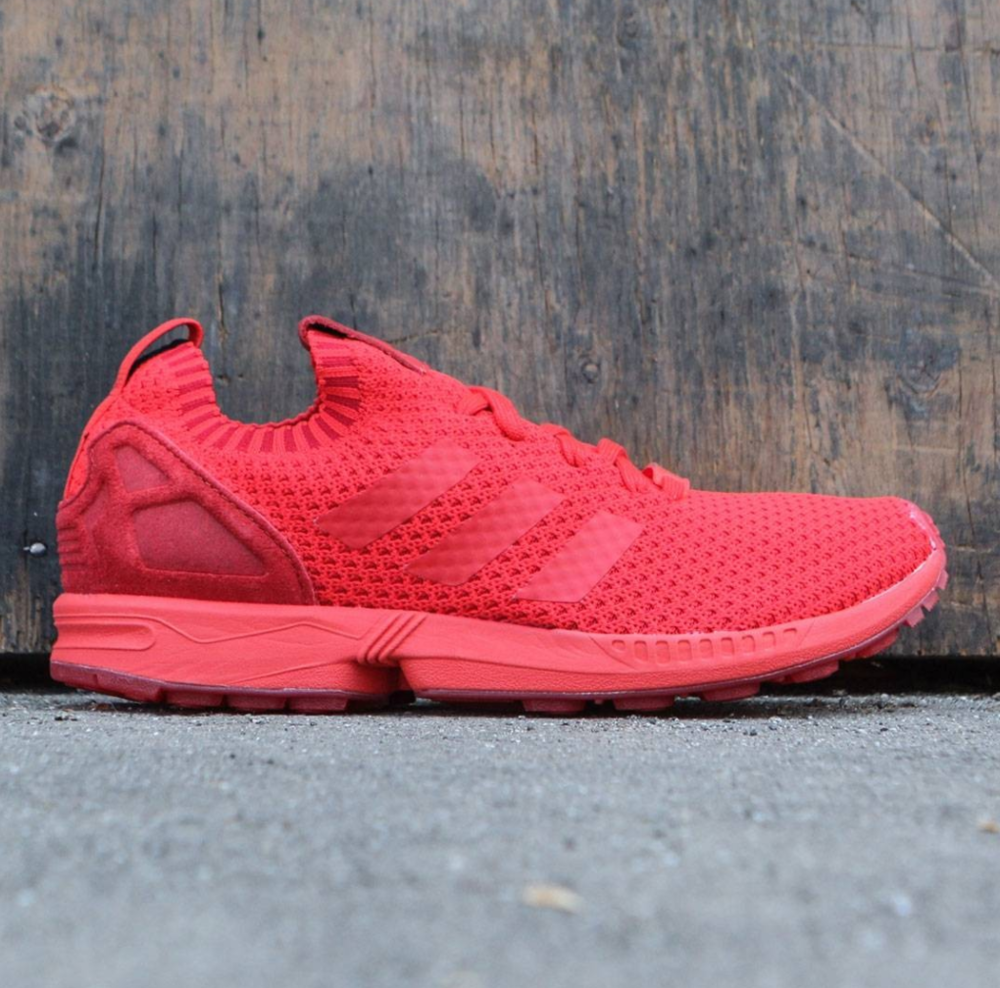 official photos ae200 91adb ... discount adidas zx flux primeknit triple red sale price 65 retail 130  use code save50hp at