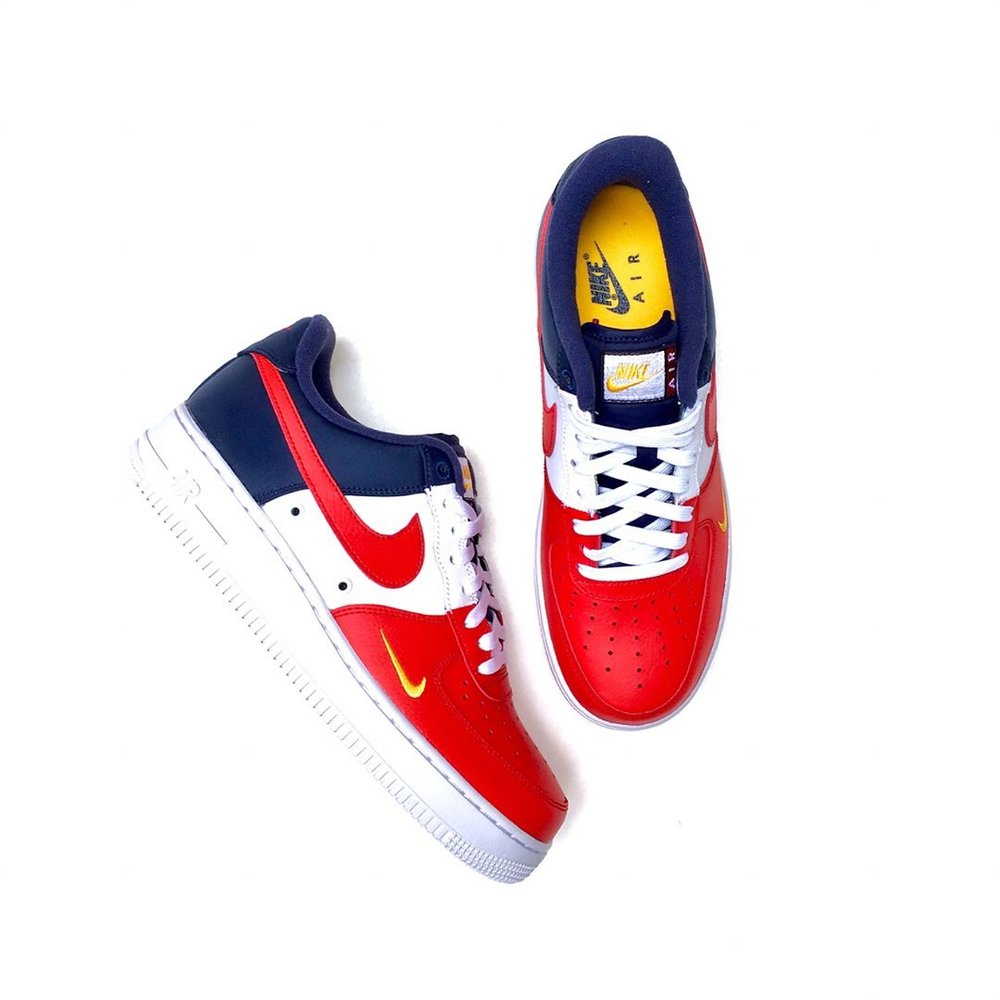 Now Available  Nike Air Force 1 Low Mini Swoosh