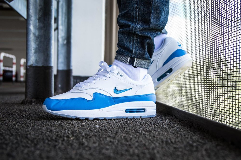 01f3217ac9 Now Available: Nike Air Max 1 Premium Jewel