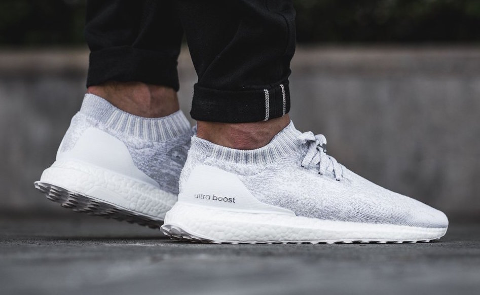 adidas ultra boost uncaged triple white under retail. Black Bedroom Furniture Sets. Home Design Ideas
