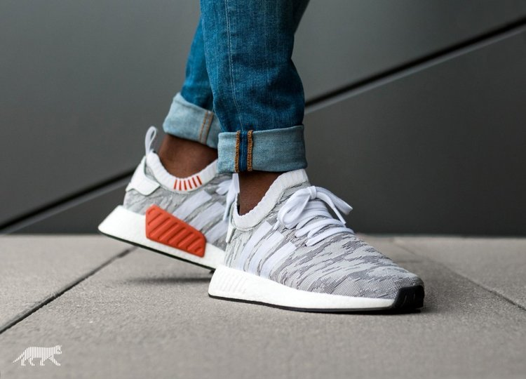 Cheap Adidas NMD R1 Grey/White