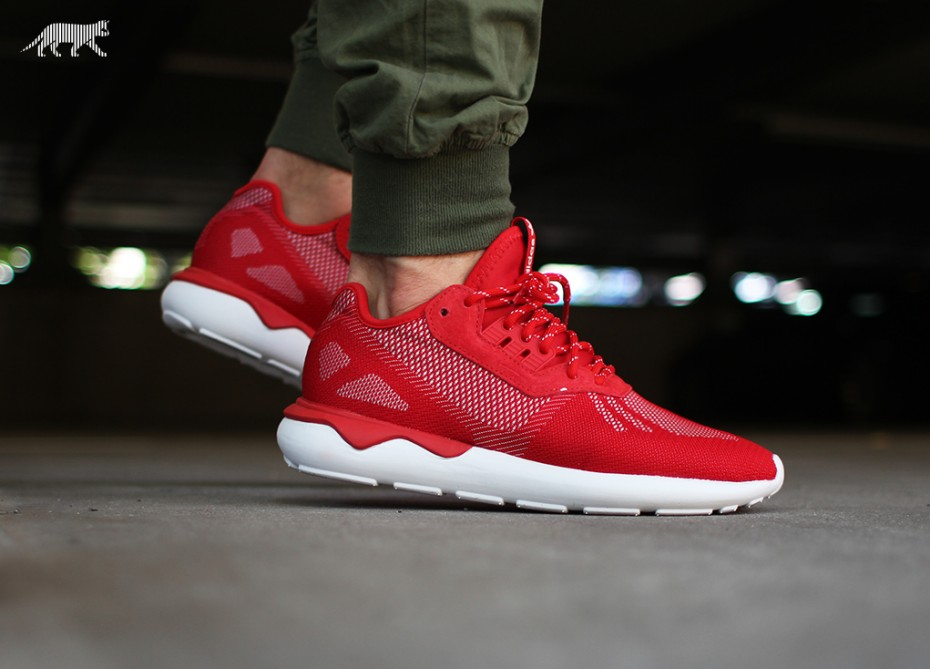 sale retailer a62aa 65137 spain adidas tubular runner red d4e09 2f0f9  australia adidas tubular weave  scarlet red under retail 010ca f06f2