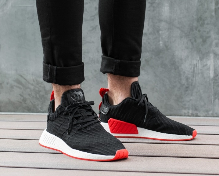 adidas Women's NMD R2 Primeknit Casual Sneakers from