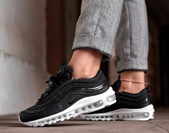 womens nike air max 97 black
