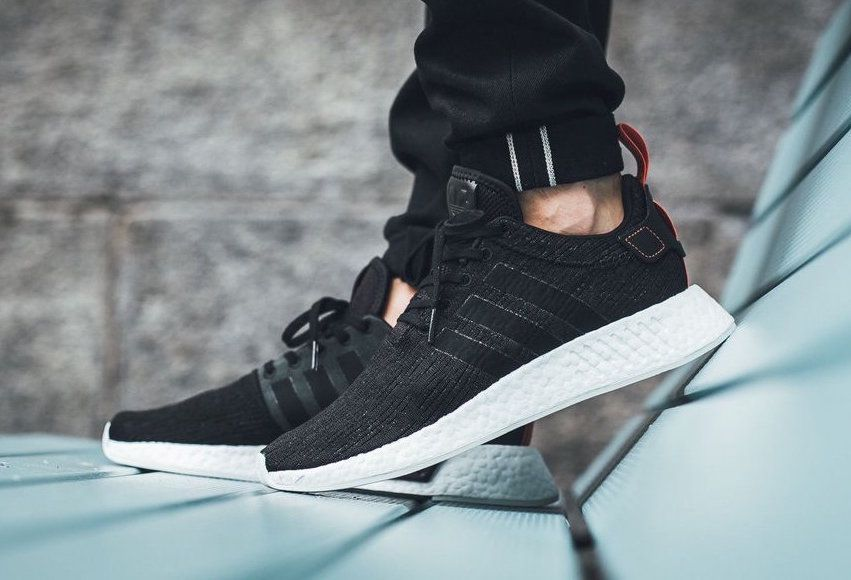 On Sale Adidas Nmd R2 Core Black Sneaker Shouts