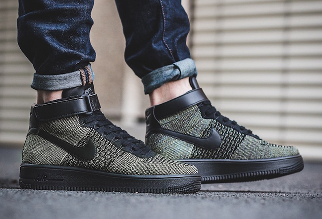 new style 22a28 03034 nike air force 1 flyknit mid