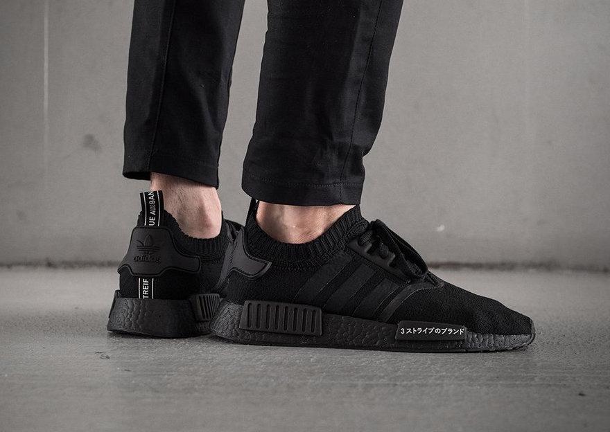 Restock Adidas Nmd R1 Pk Japan Triple Black Sneaker Shouts