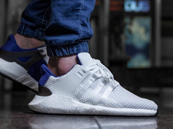 online store 8955c f95d0 adidas-EQT-Support-93-17-White-Royal-Blue-