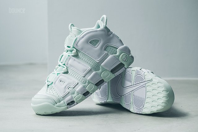 ... usa now available womens nike air more uptempo barely green u2014 sneaker  shouts e2890 251cb 93d19a5aa