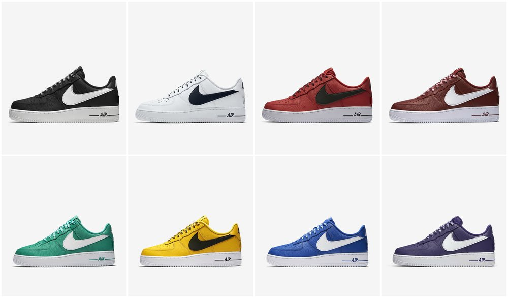 premium selection b35b8 c6c8e ... Now Available NBA x Nike Air Force 1 ...