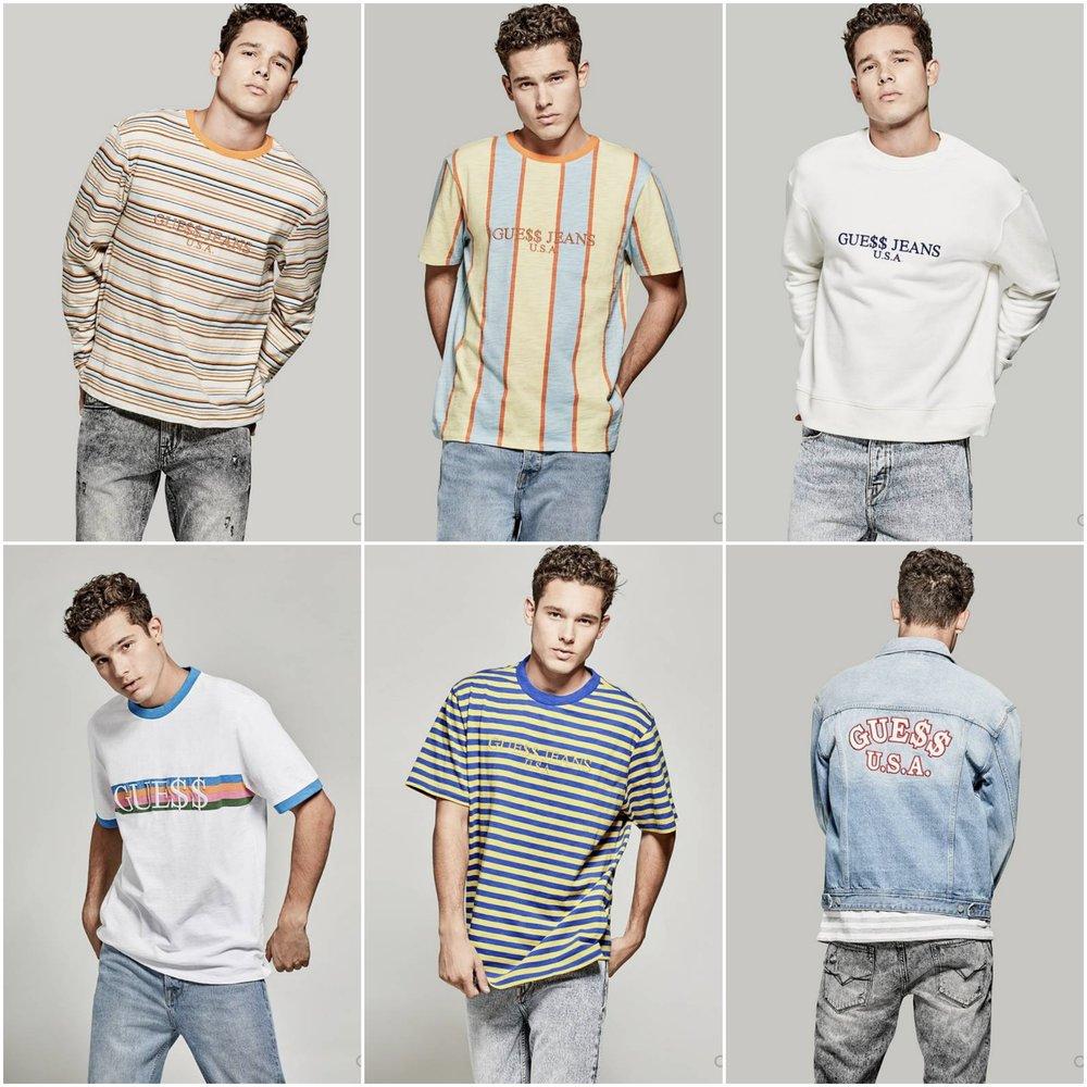 Anlis Usa Asap Jeans Shirt T Guess Rocky AqFYwz5