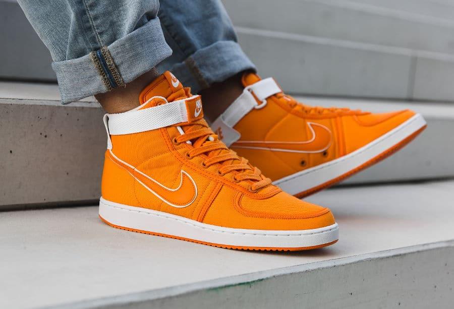 best service 28157 32a49 chaussure-nike-vandal-montante-orange-burnt-ceramic-AH8605-