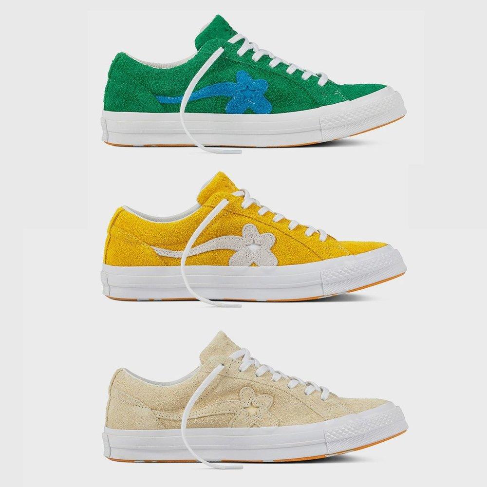 7387feedcbd4a8 Now Available  Tyler the Creator x Converse Golf Le Fleur — Sneaker ...