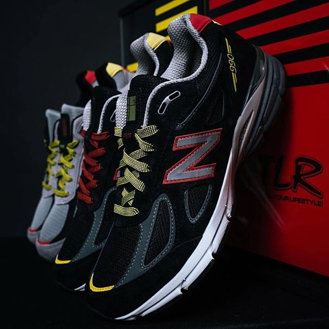cheap for discount e548c 67487 50% off new balance 990 yellow black 1095f ef407