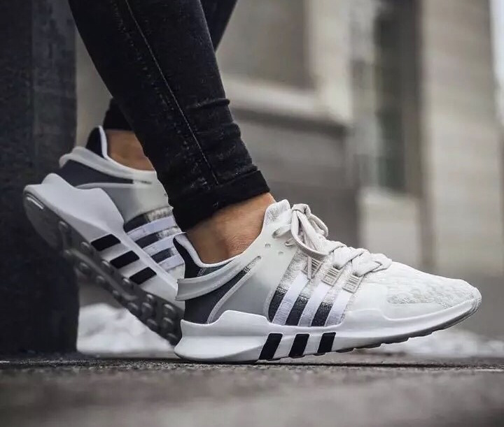 "Vans Yacht Club Old Skool On Feet: Women's Adidas EQT Support ADV ""Clear Brown"" Under Retail"