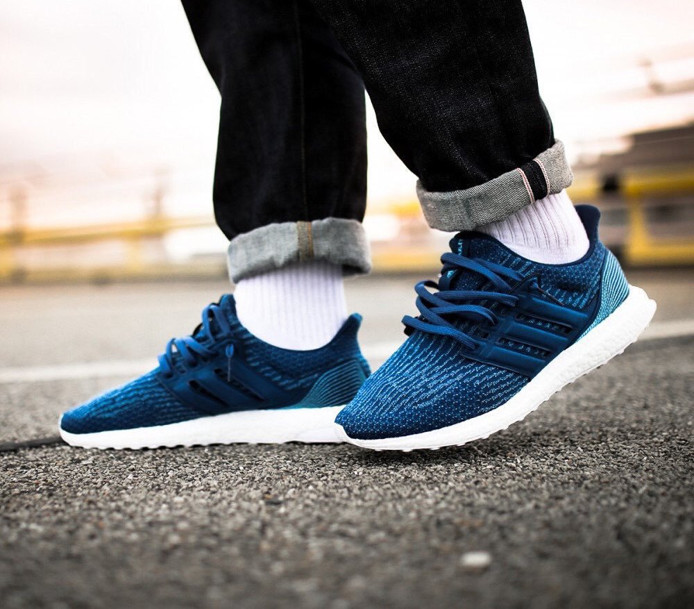 hot sale online 3d3bd 35376 Parley x adidas Ultra Boost 3.0