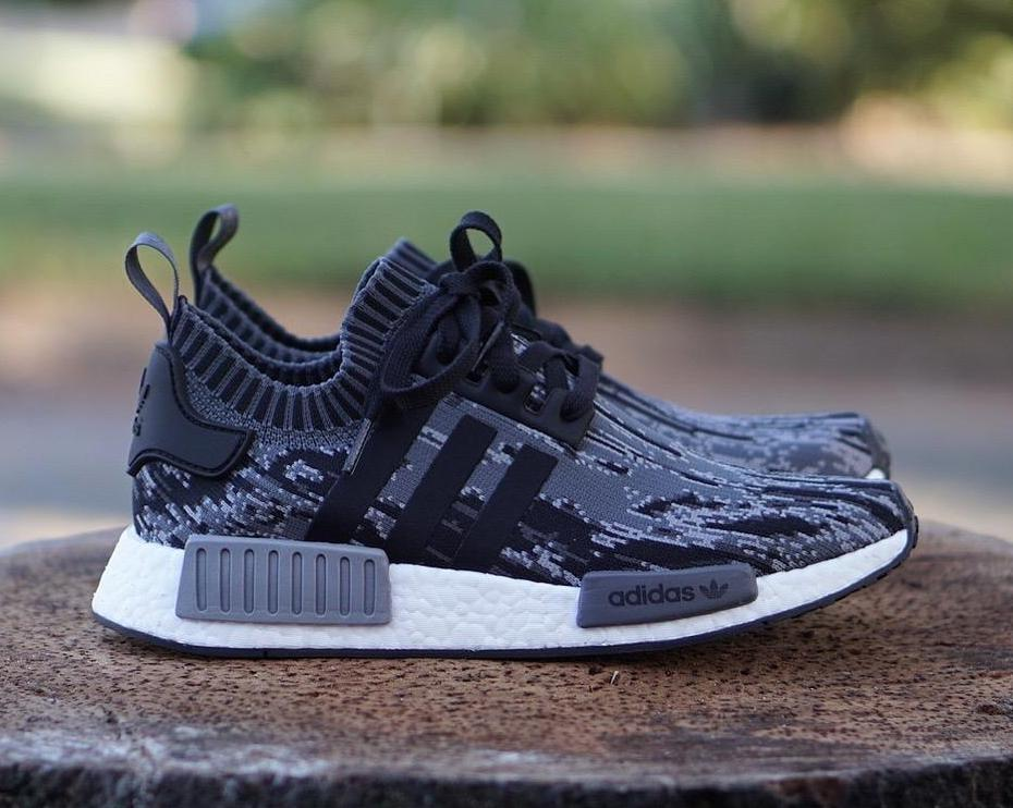 79577b2ee3f6e On Sale  adidas NMD R1 PK Glitch