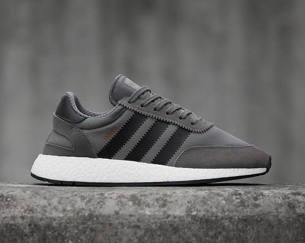 insidesneakers • Adidas Iniki Runner Boost Grey Black • BY9732