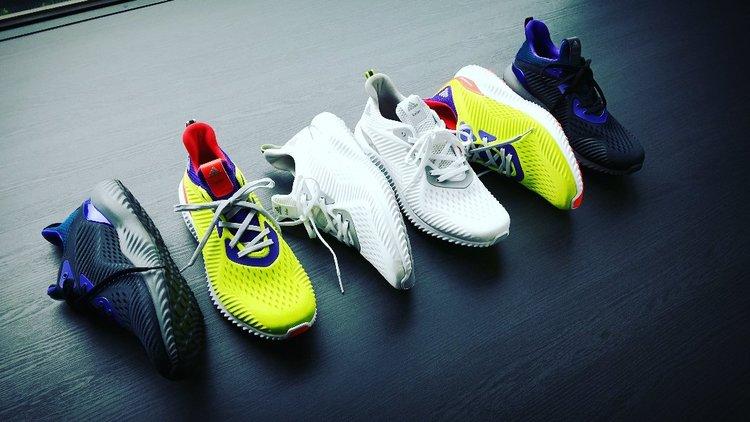 5f11b91124875 On Sale  Kolor x adidas AlphaBounce — Sneaker Shouts