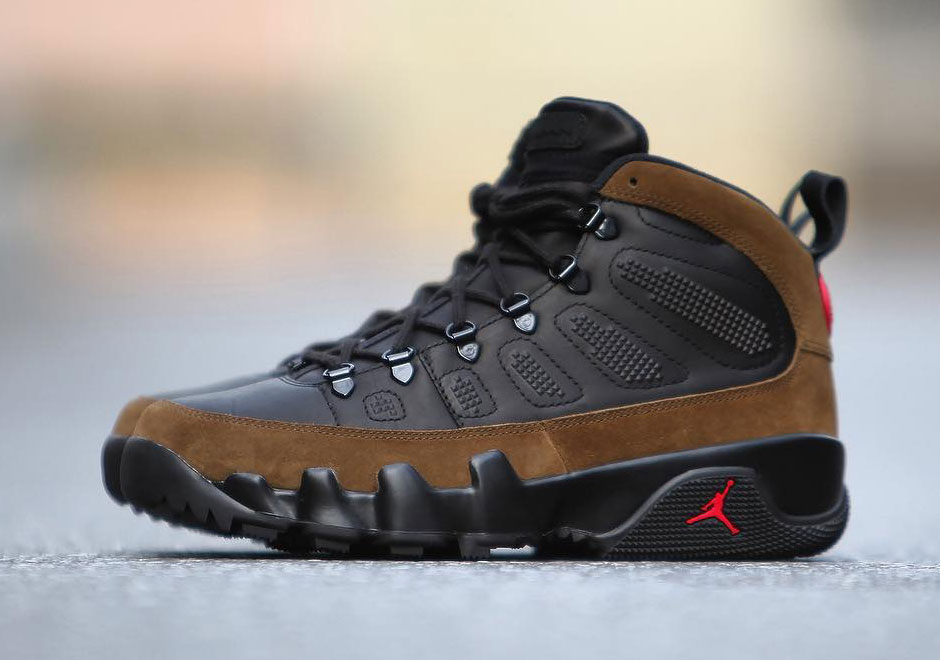 newest collection 807df bad2d Now Available: Air Jordan 9 Retro NRG Boot