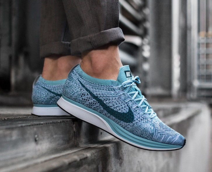 official photos ea382 a8ef9 ... clearance nike flyknit racer macaron pack white legion blue 6bf51 ee8af