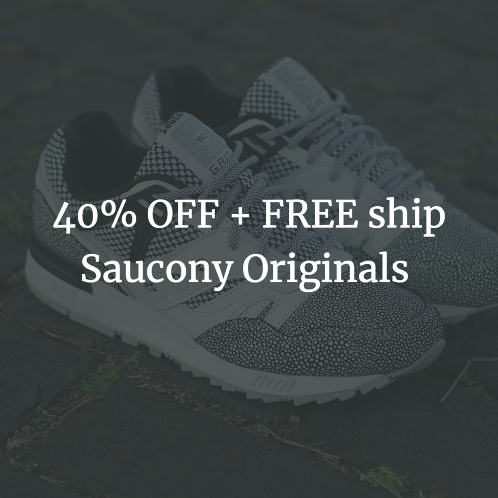 40% OFF + FREE shipping on Saucony Original Footwear — Sneaker Shouts 66d845cdd