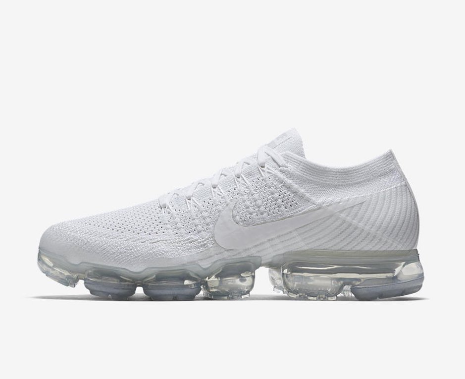Air VaporMax Flyknit sneakers - White Nike EM6riuO