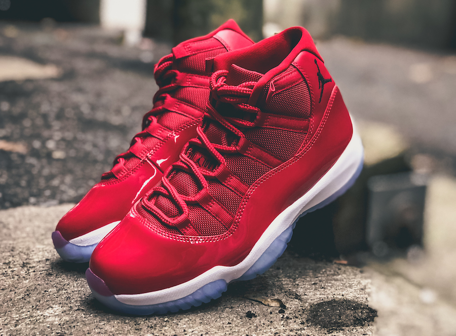 mens air jordan 11 retro win like 96 restock