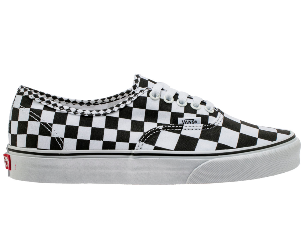 mix checker vans