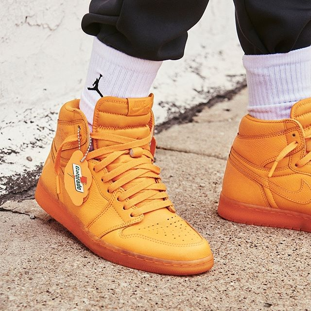 sports shoes eeae9 eb5fd On Sale: Gatorade x Air Jordan 1 High Retro OG