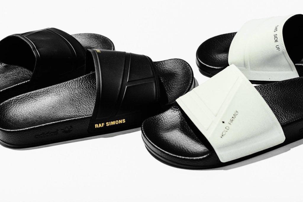 c4a0a1e487f99a On Sale  Raf Simons x adidas Bunny Adilette Slides — Sneaker Shouts