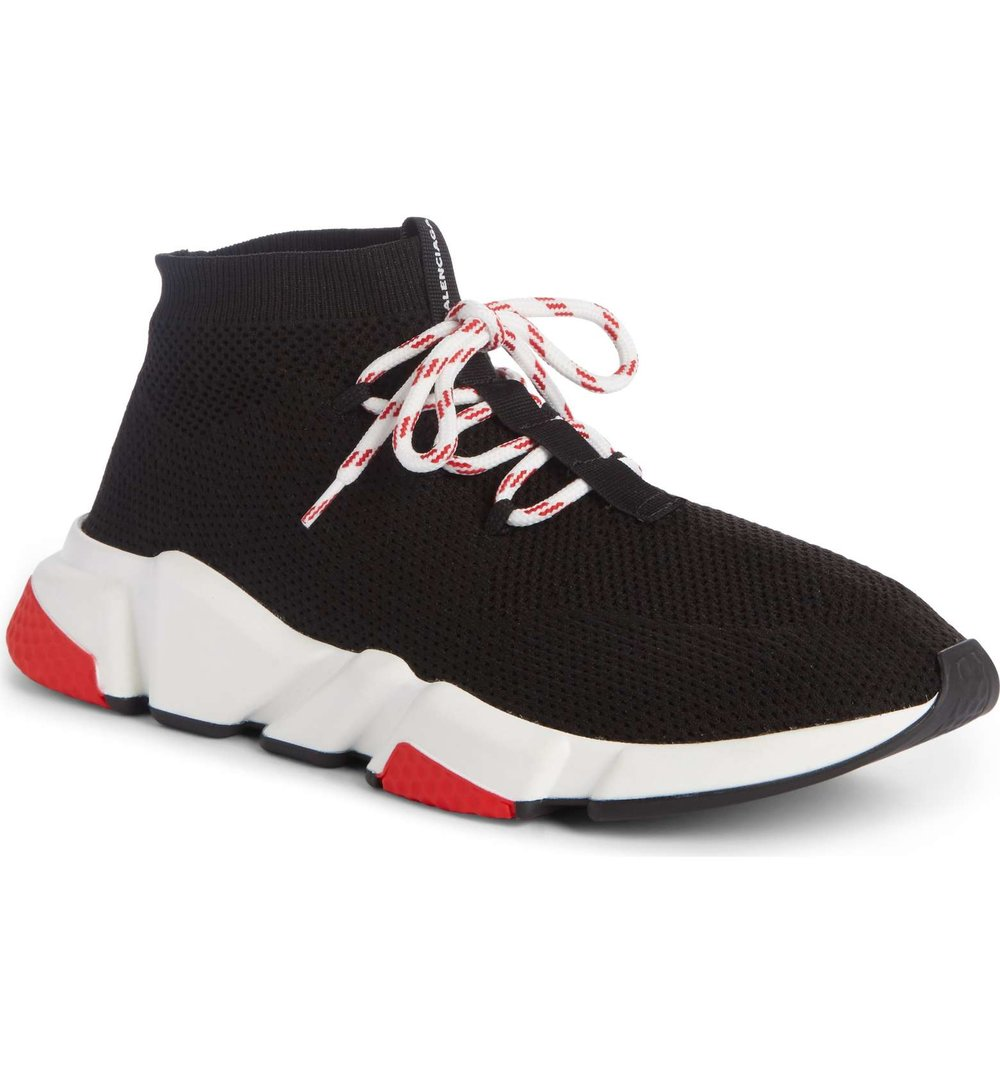1ab91e941fc Now Available  Balenciaga Speed Knit Mid — Sneaker Shouts
