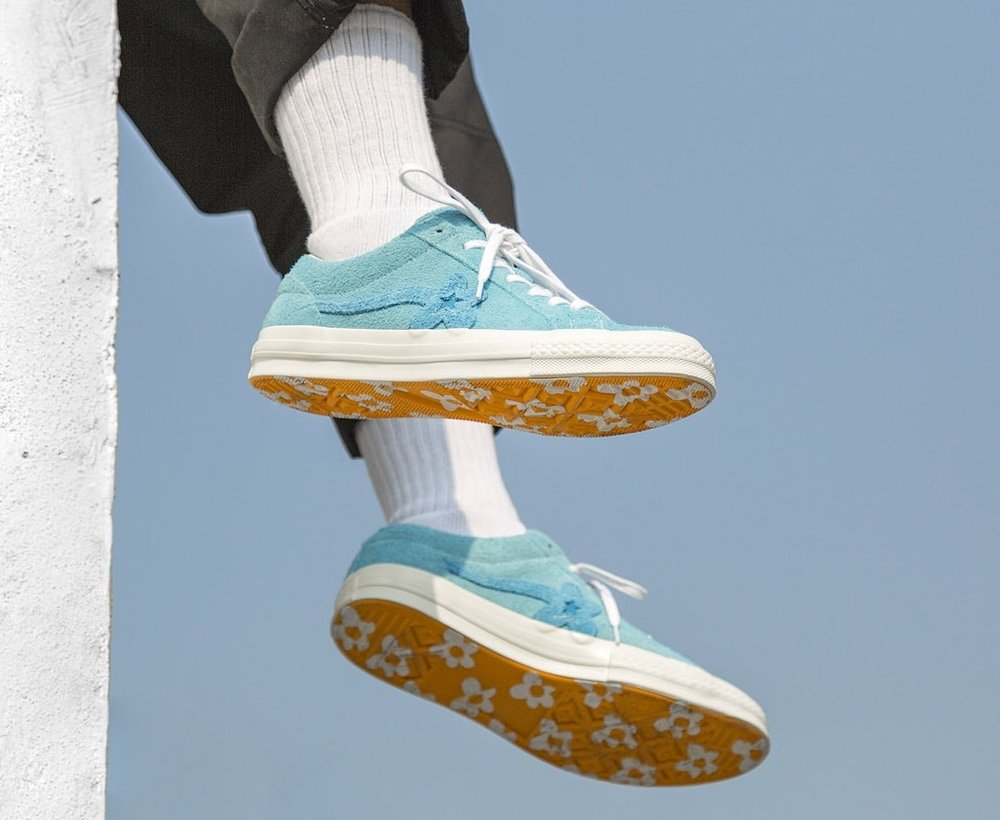 c9d47ab3eaa8a9 Now Available  Golf Le Fleur x Converse One Star Suede
