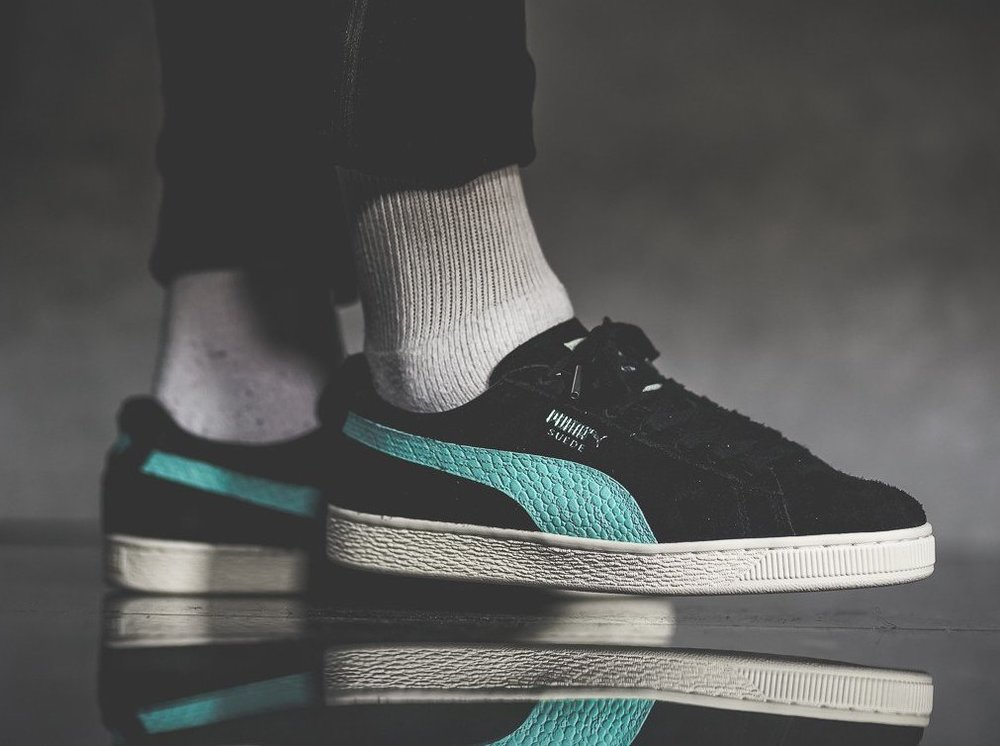 Now Available  Diamond Supply x Puma Suede