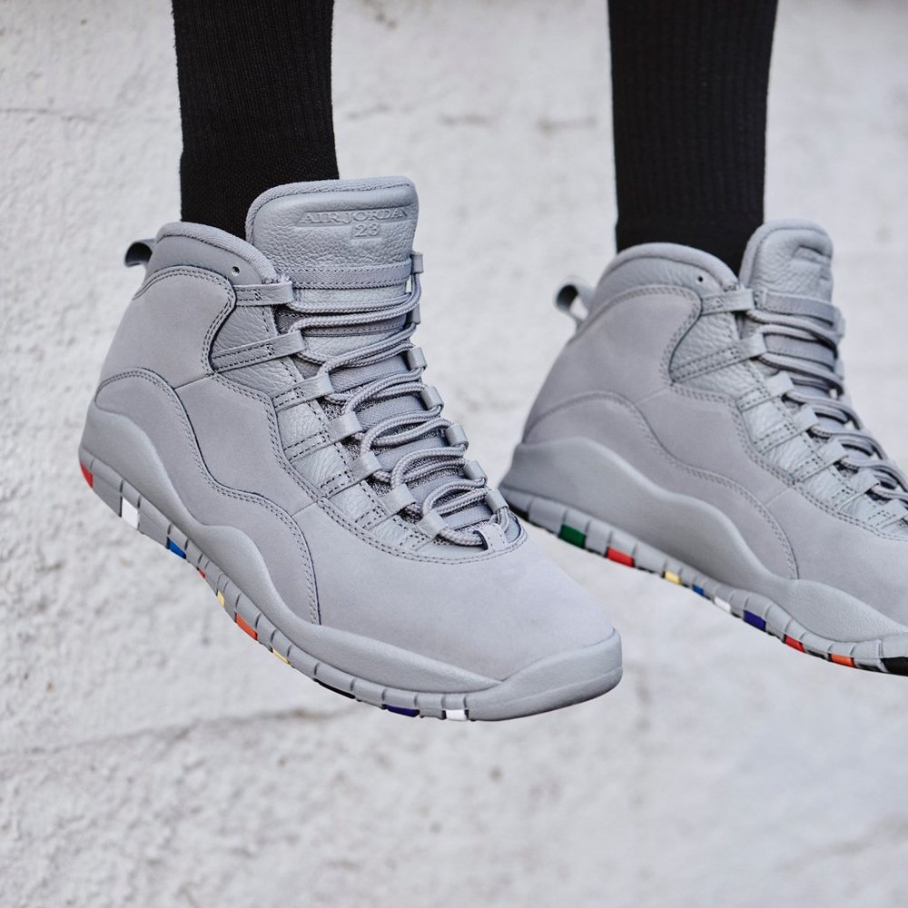 air jordan 10 cool grey outfits with boots