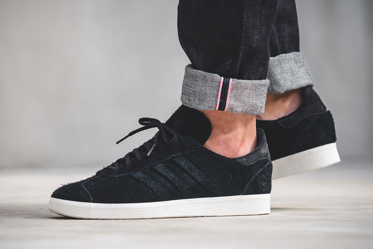 huge selection of e868c 516c4 On Sale: Wings + Horns x adidas Gazelle Suede