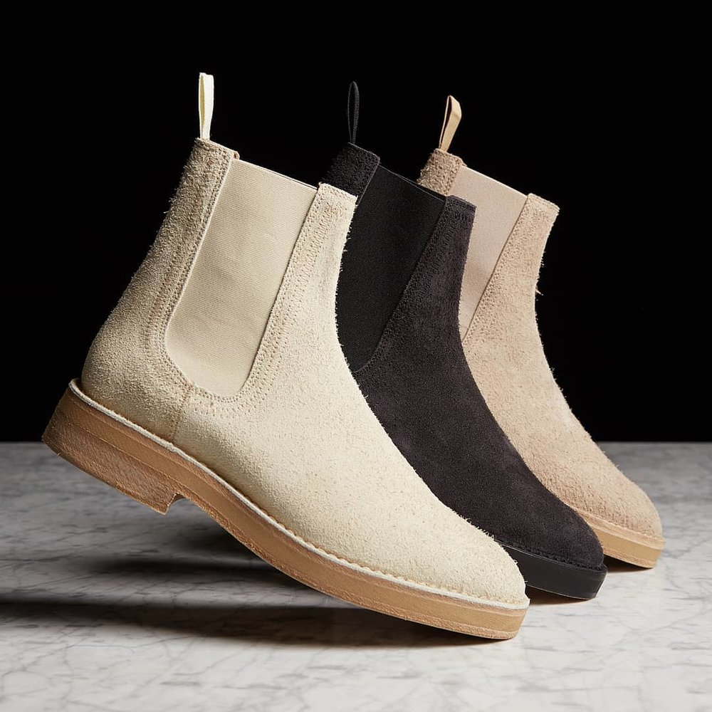 b9fa2d94e05 Now Available  Yeezy Season 6 Chelsea Suede Boots — Sneaker Shouts