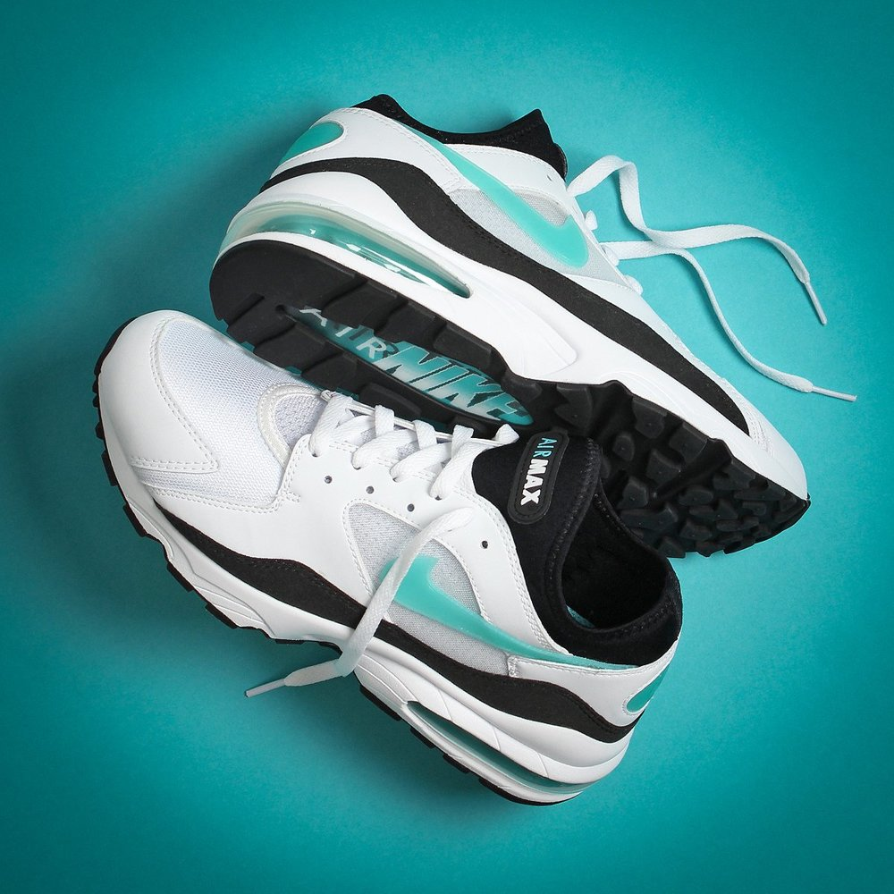 best sneakers e70d8 6911b Now Available: Nike Air Max 93 OG