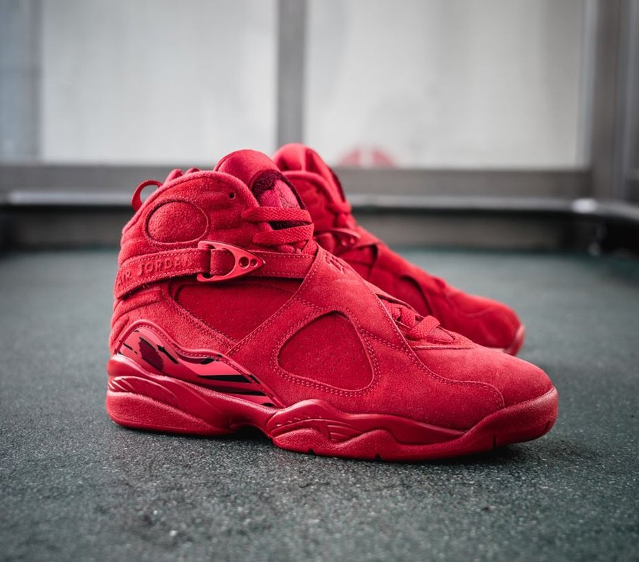 Now Available Women S Air Jordan 8 Retro Valentine S Day