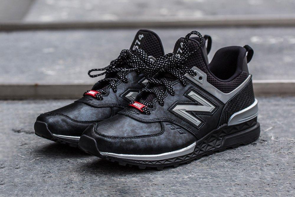 new balance 574 grise et noir