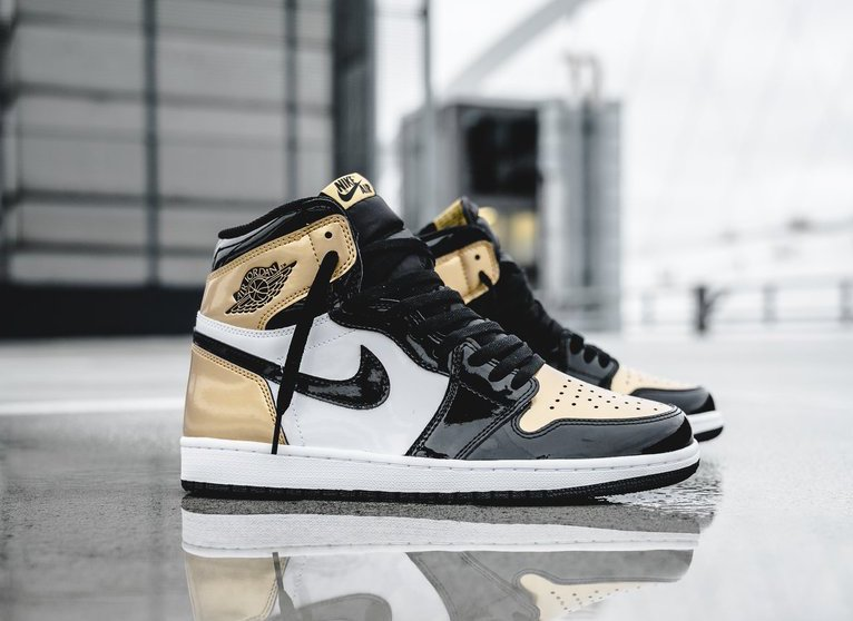 High Air Gold Now 1 Jordan Available Toe Retro xfB7qOSw1