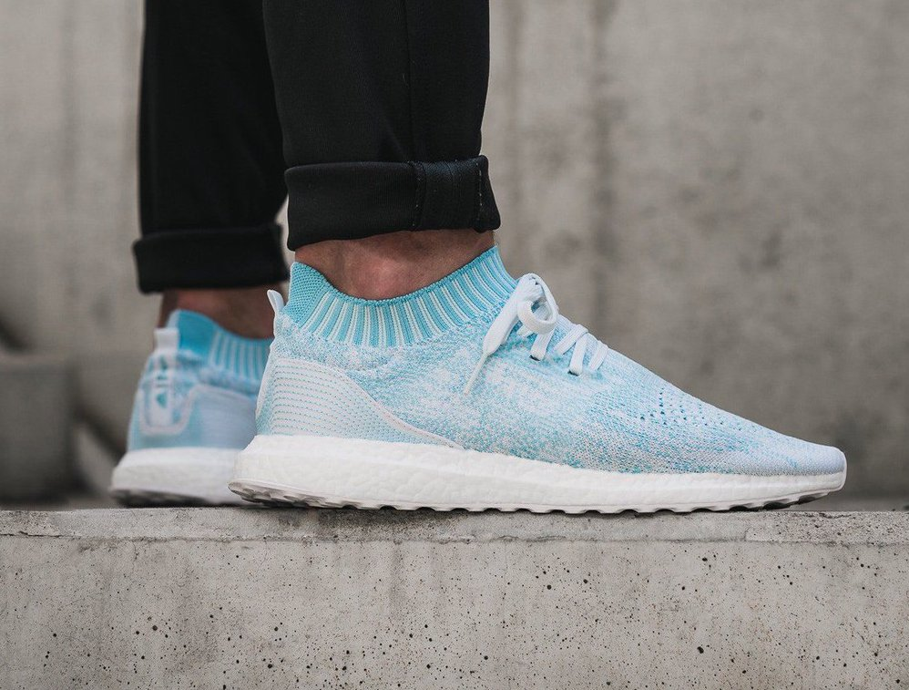 a051485a4c33c ... cheap parley x adidas ultra boost uncaged ice blue under retail u2014  sneaker shouts cd721 e900d