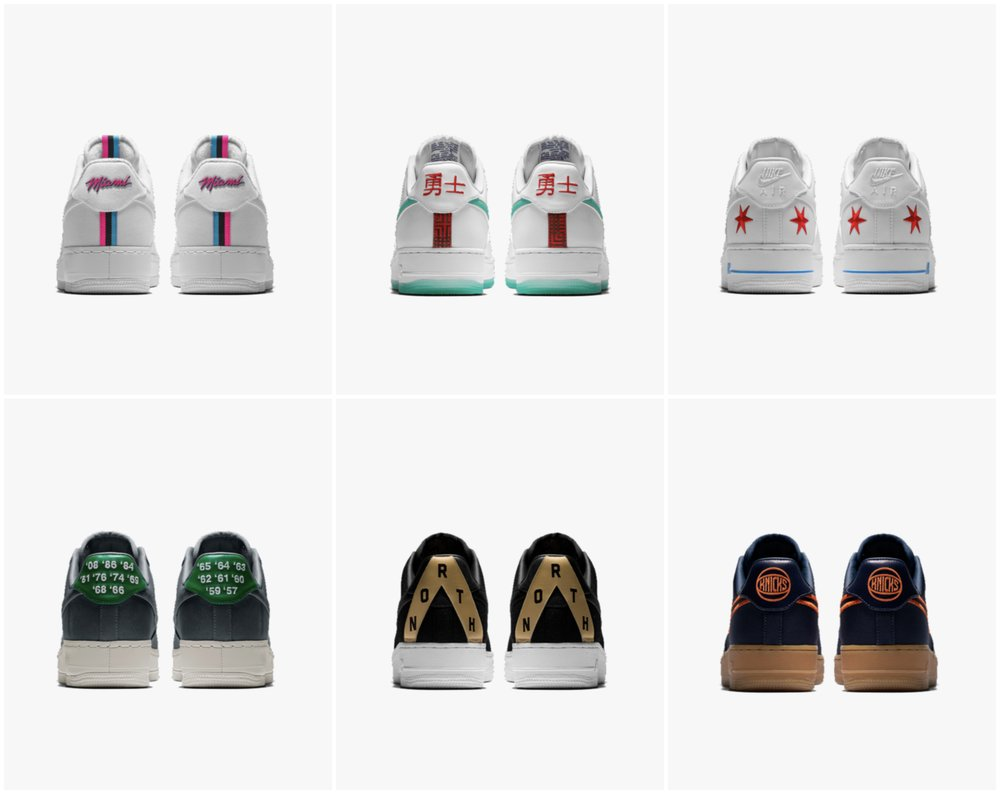 Now Available Nike Air Force 1 Low ID City Edition