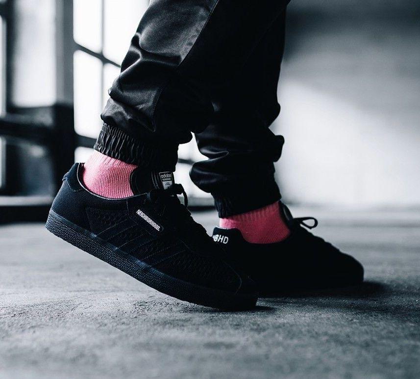 Now Available: Neighborhood x adidas Gazelle Super — Sneaker Shouts