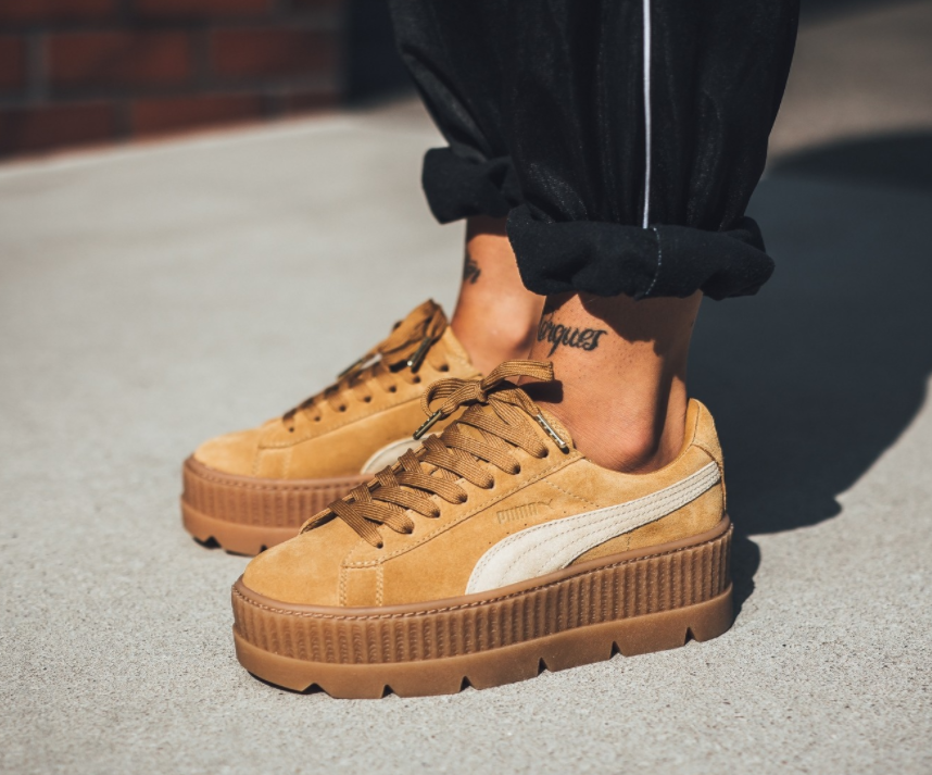 premium selection 401dc 1bc77 On Sale: Rihanna x Puma Fenty Cleated Creepers — Sneaker Shouts