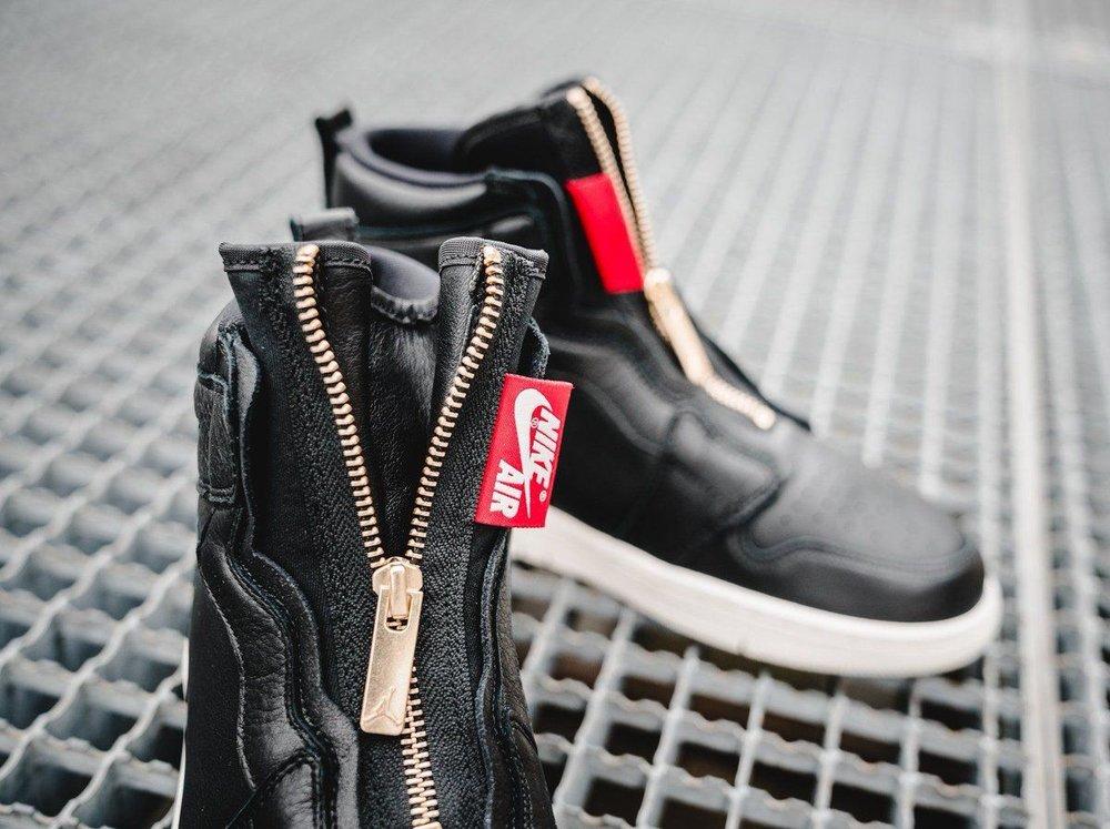 7aaacf516a5d Now Available  Women s Air Jordan 1 High Zip