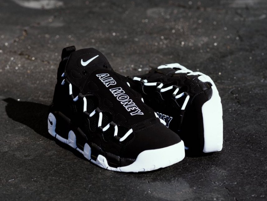 new products 99cb4 a76a4 Now Available: Nike Air More Money