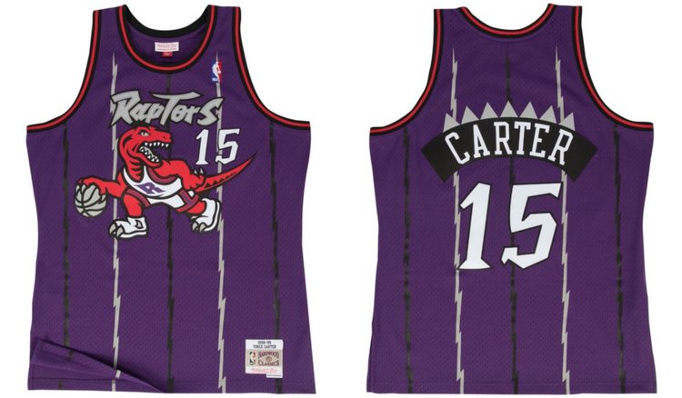 6c89bf1e8ef2 Now Available: Mitchell & Ness Toronto Raptors