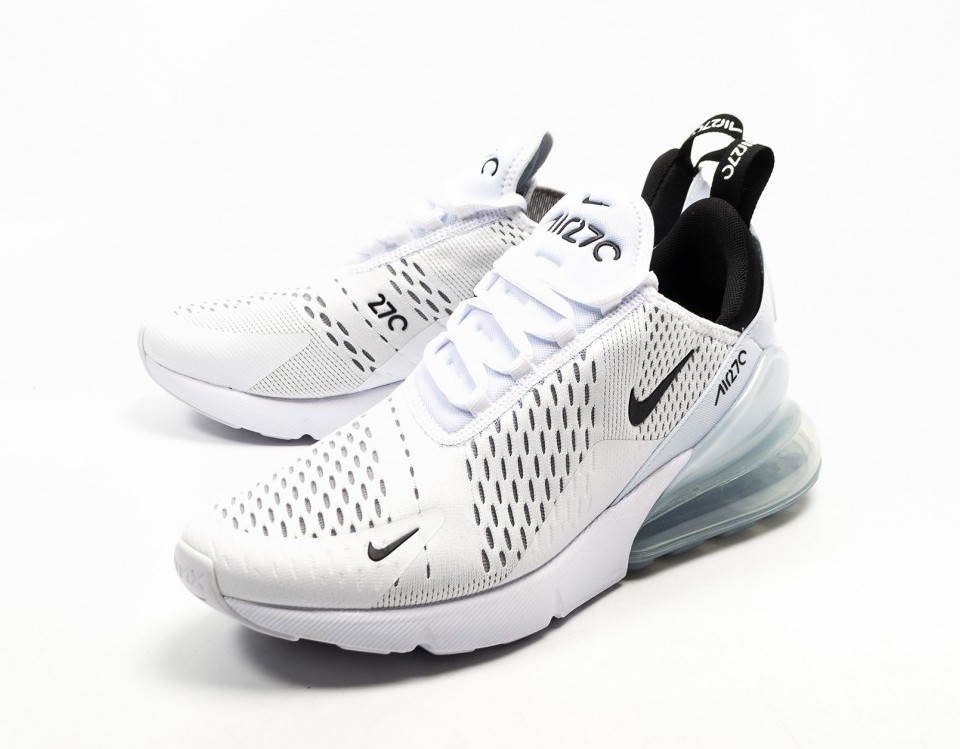 air max 270 white and black